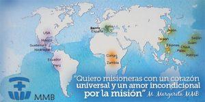 Mapa mundi misión