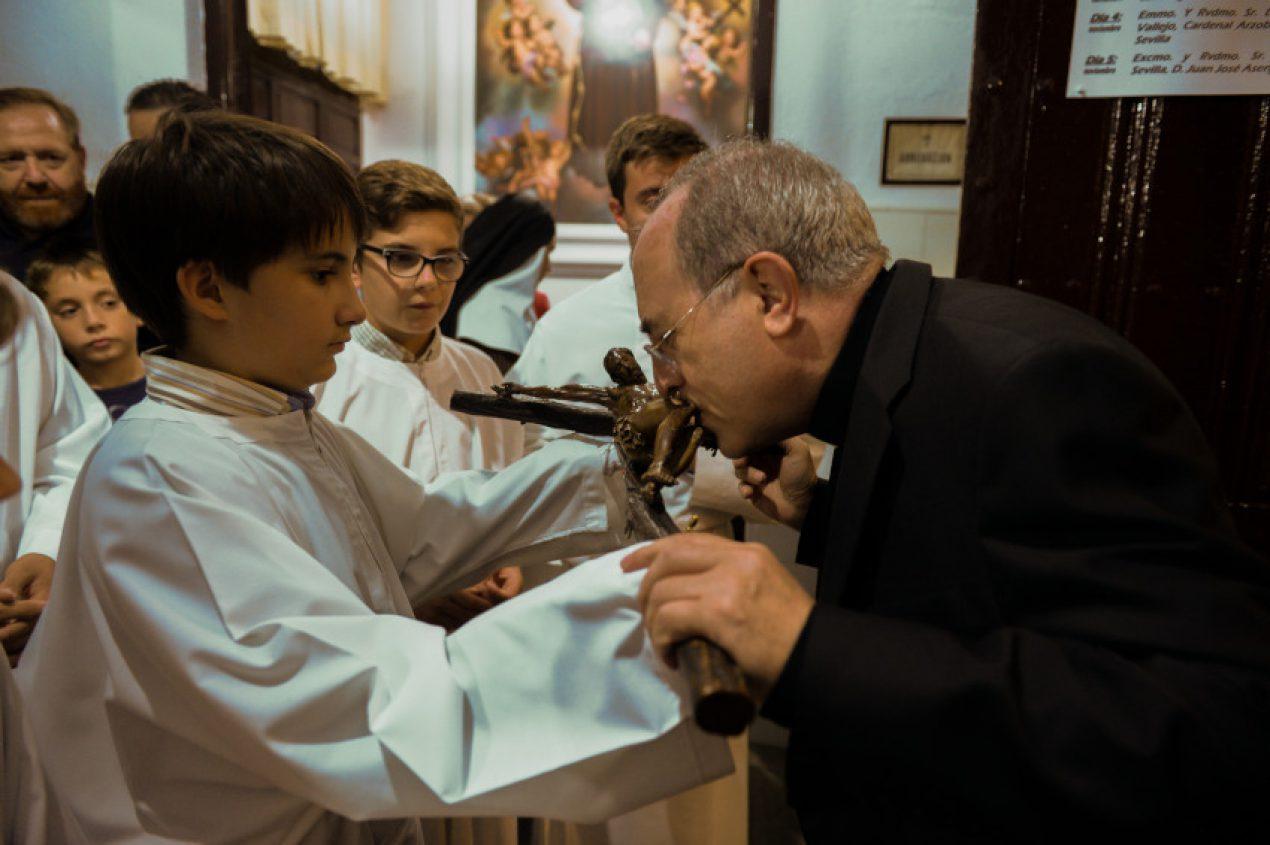 Eucaristía en las Hermanas de la Cruz en la festividad de su fundadora