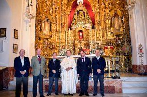 Misa por los difuntos de la Liga Naval Española y la Cámara de Mareantes