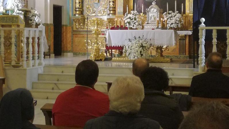 Vigilia dedicada a los fundadores de la Adoración Nocturna Española en Alcalá De Guadaíra