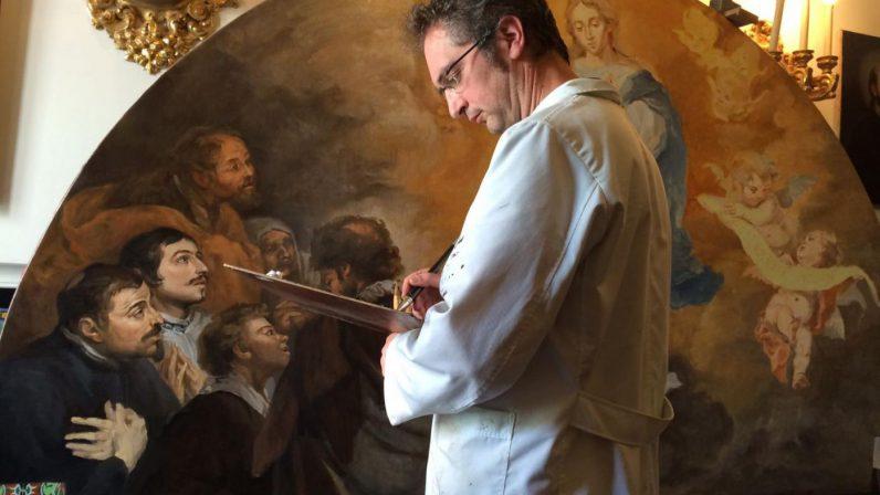 Santa María la Blanca presenta las réplicas de dos obras de Murillo