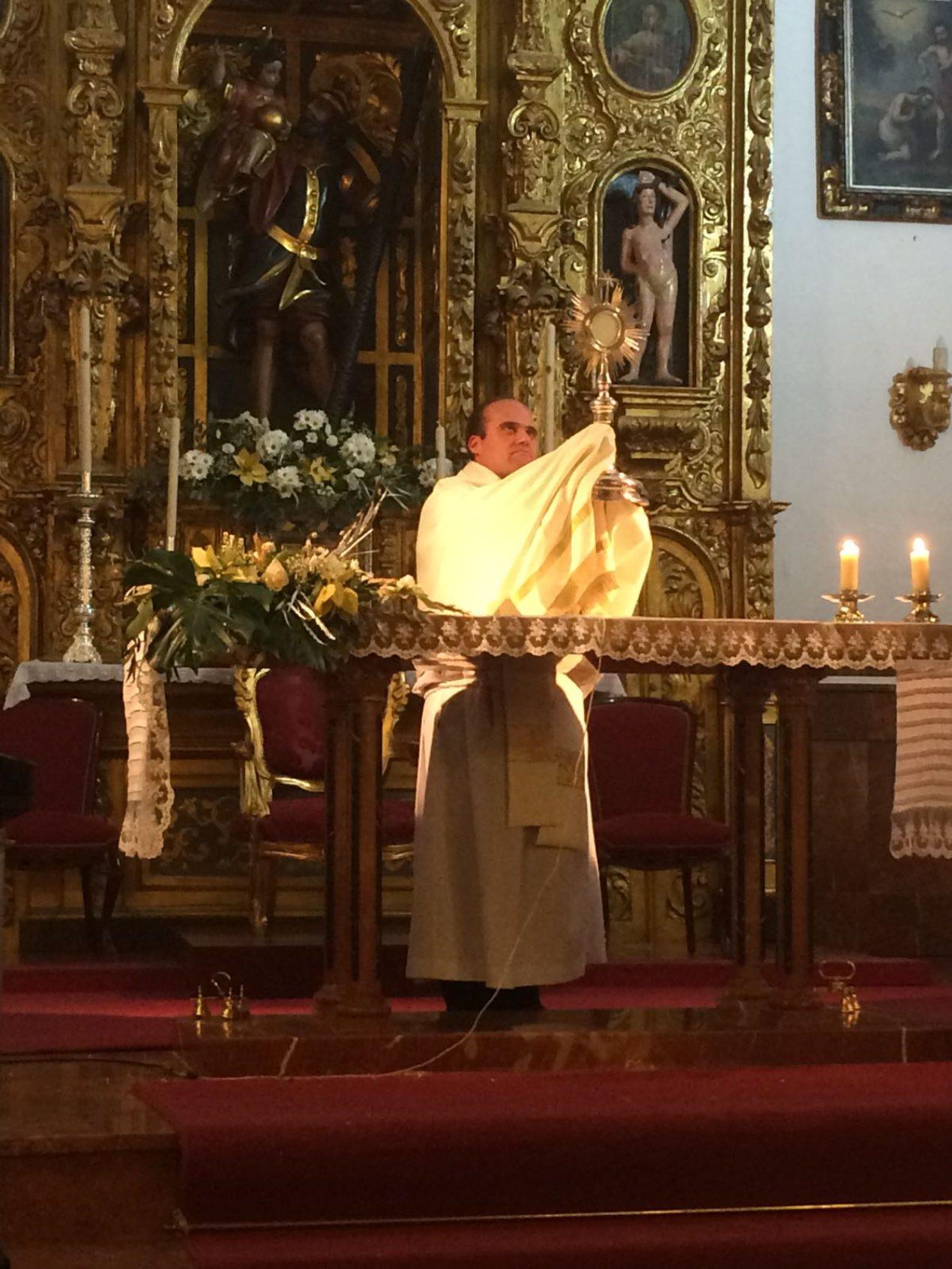 Vigilia de la Inmaculada en la Parroquia de San Cristóbal Mártir, de Burguillos