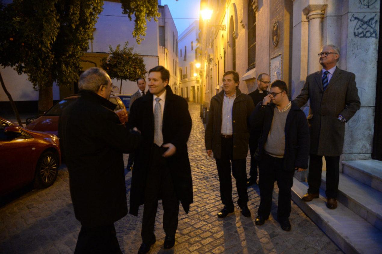 Misa en la festividad del patrón de los periodistas