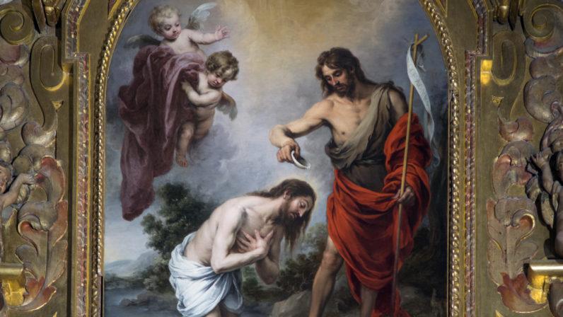 Año Murillo (IV): El bautismo de Cristo