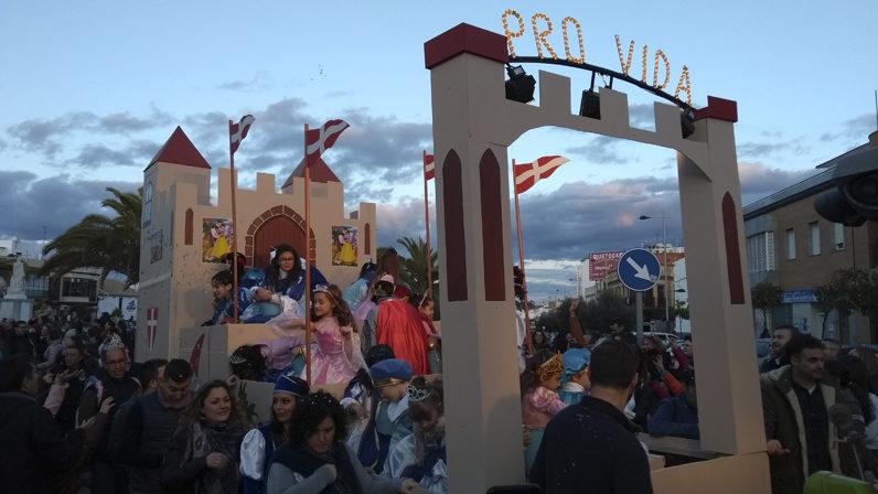 La Asociación Pro-Vida participa en la Cabalgata de Reyes Magos de Mairena del Alcor