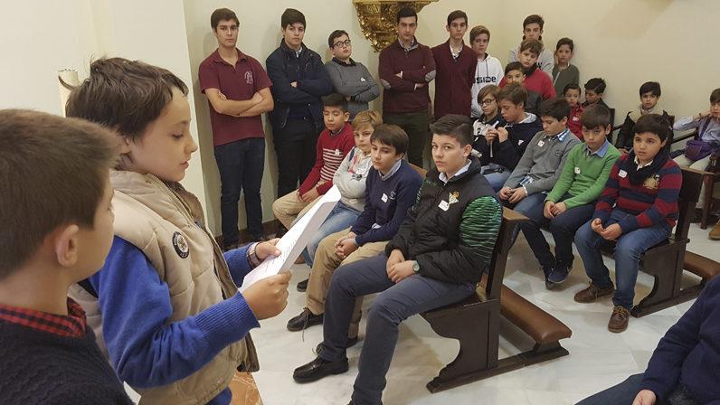 El Arzobispo de Sevilla visitará la Escuela de Monaguillos
