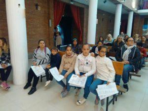 Parroquia Blanca Paloma Sevilla niños Catequesis