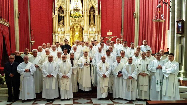 Ejercicios espirituales para el clero sevillano en el Santuario de Ntra. Sra. de Regla