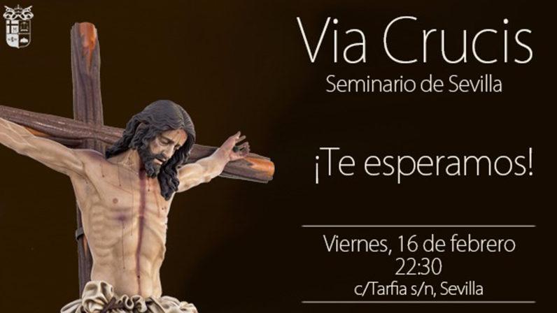 Vía Crucis en el Seminario