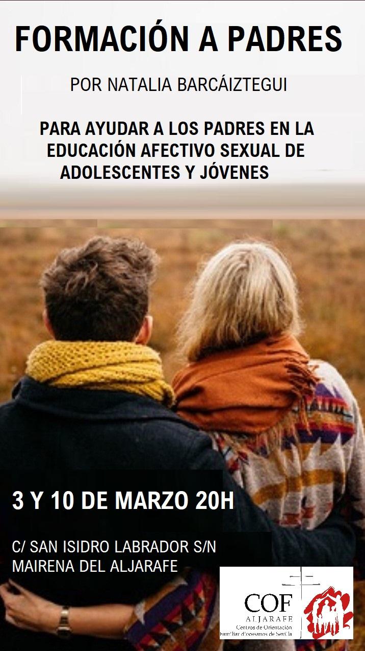 2ª Sesión de la Formación a padres sobre educación afectivo sexual de jóvenes y adolescentes