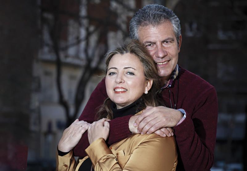 """Magüi Gálvez y José Luis Gadea: """"Que nadie dé por perdido su matrimonio, porque  la Virgen no lo haría"""""""