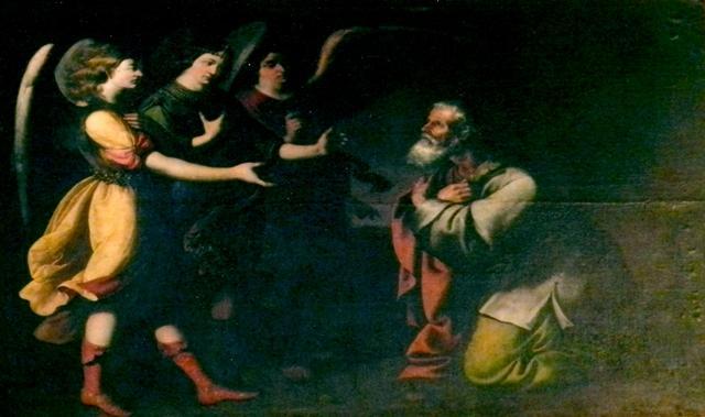 Pinturas de los ángeles en una iglesia de Sevilla   Archidiócesis de ...