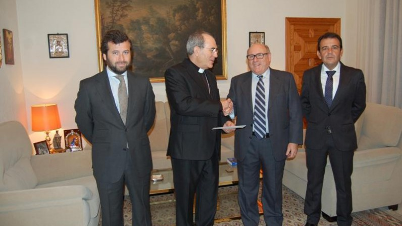 El donativo de FEDEME a la Archidiócesis se destina a la Fundación Diocesana de COF