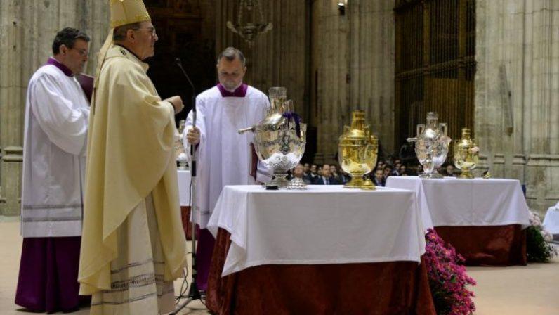 Horarios de cultos de Semana Santa en la Catedral de Sevilla