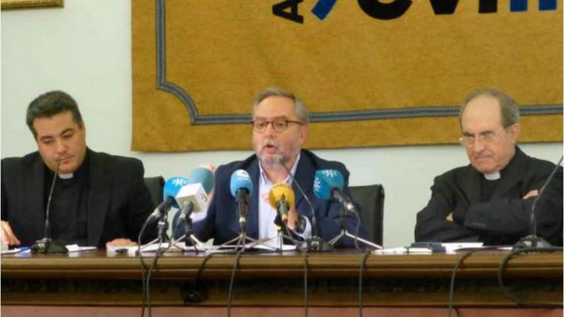 Peresentación de la acción conjunta contra el paro en el Arzobispado