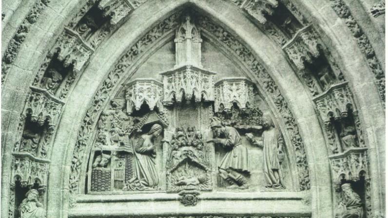 PORTADA DEL NACIMIENTO DE LA PUERTA DE SAN MIGUEL. Catedral de Sevilla.