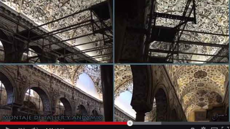 Vídeo presentación de obras de la tercera fase de la Iglesia de Sta. María la Blanca