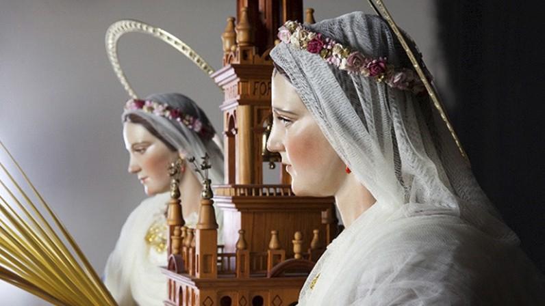 Cultos en honor de las santas Justa y Rufina