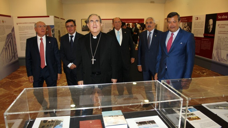 """Inaugurada la muestra sobre don Ángel Herrera, """"un adelantado a su tiempo"""""""