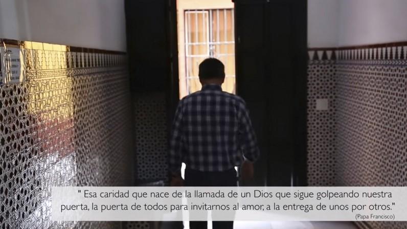 Vídeo de sensibilización  de Cáritas acerca de las personas sin hogar