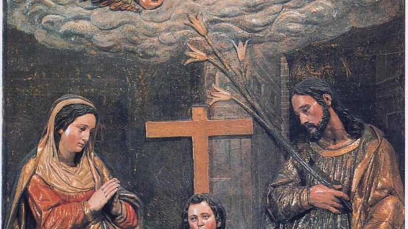 Las Dos Trinidades de Juan Martínez Montañés