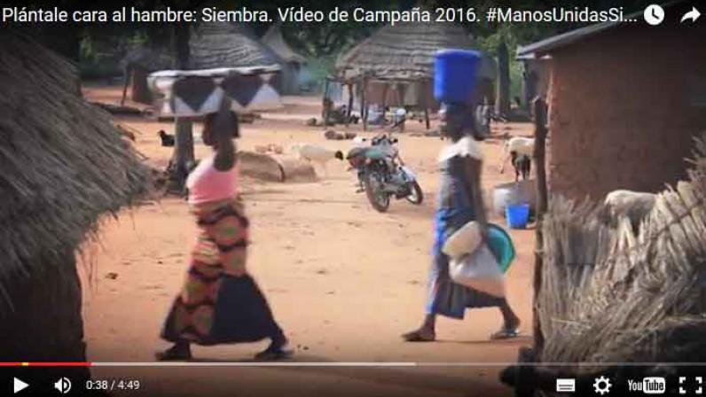 Vídeo de la 57ª campaña contra el hambre de Manos Unidas