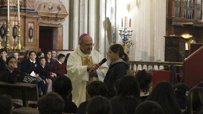 Los colegios diocesanos peregrinan a la Catedral