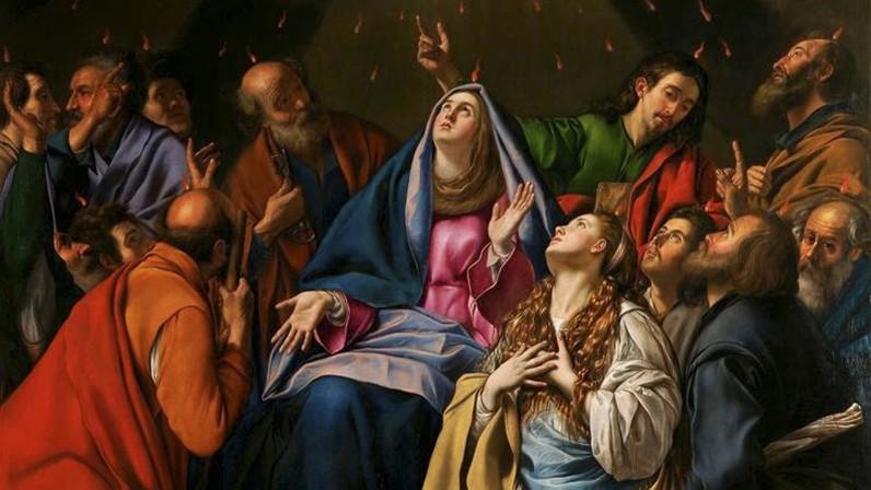 Solemnidad de Pentecostés (Liturgia del 23- 5-2021)