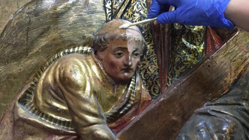 Convenio con la Universidad de Sevilla para restaurar el retablo de Sto. Domingo en Osuna
