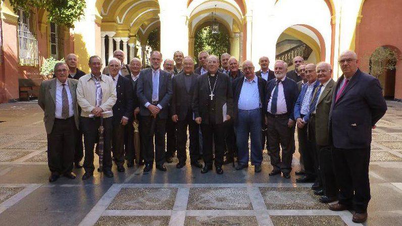Encuentro del Arzobispo con los diáconos permanentes