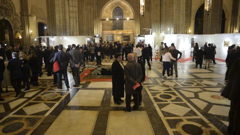 La exposición de la Catedral sobre la misericordia se clausura con éxito de público