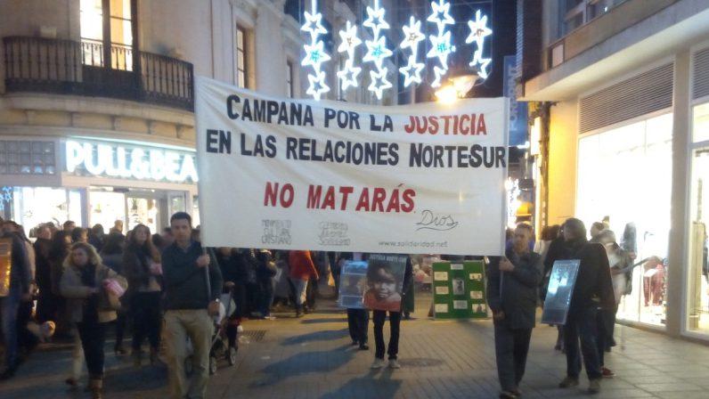 Marcha solidaria del Movimiento Cultural Cristiano