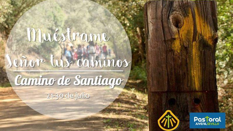 La Pastoral Juvenil convoca a una reunión informativa sobre la peregrinación a Santiago