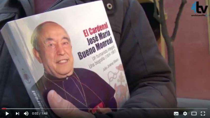 Julio Jiménez presenta su biografía del Cardenal Bueno Monreal