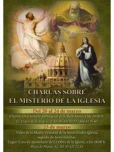 17 marzo_Charlas cuaresmales en la Parroquia San Bartolomé