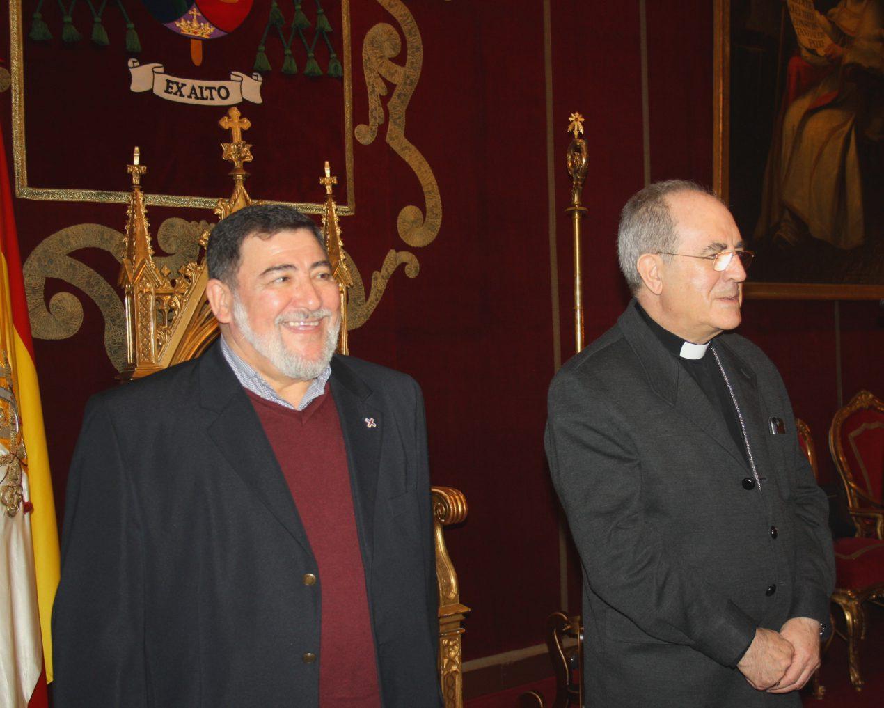 El Arzobispo recibe a personas privadas de libertad