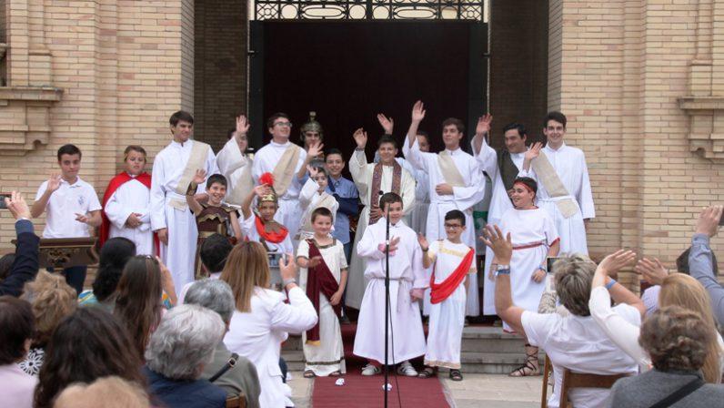 400 personas participan en la Jornada de Puertas Abiertas del Seminario Menor