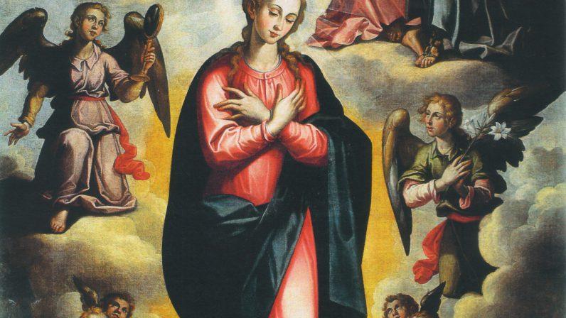 Francisco Pacheco: La INMACULADA (Iglesia de San Lorenzo)