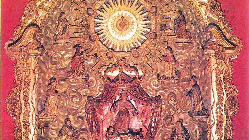 RETABLO DEL CORAZÓN DE JESÚS EN SEVILLA (Monasterio del Espíritu Santo, Sevilla)