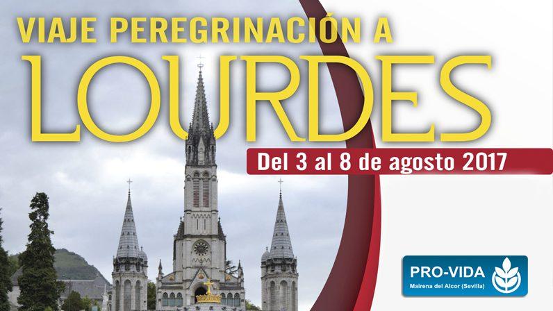 Mañana comienza la Peregrinación a Lourdes de Pro-Vida Mairena del Alcor