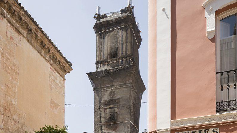 Comienzan las obras para restaurar la torre de San Bartolomé