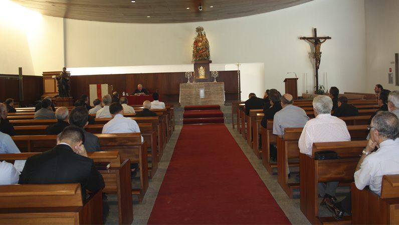 Mons. Gómez dirige el primer retiro del curso para el clero