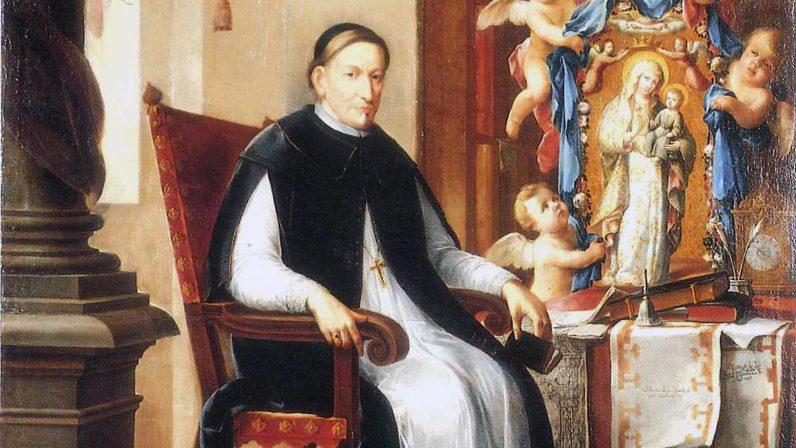 Retrato del Arzobispo Don Luis de Salcedo y Azcona (Palacio Arzobispal de Sevilla)