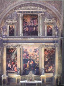 retablo mayor iglesia anunciacion sevilla