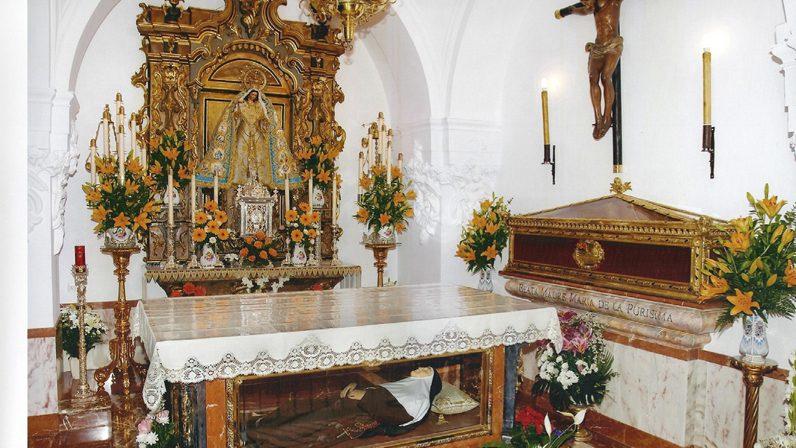 """""""Calderilla de milagros"""" de Santa Ángela"""