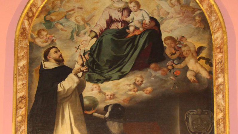"""Año Murillo (I): """"La Virgen entregando el rosario a Santo Domingo"""""""