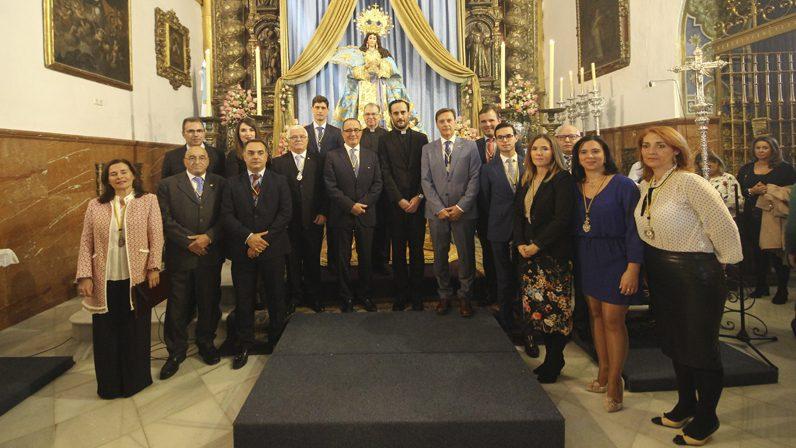 Castilleja de la Cuesta celebra el patronazgo de la Inmaculada Concepción sobre el Arma de Infantería Española