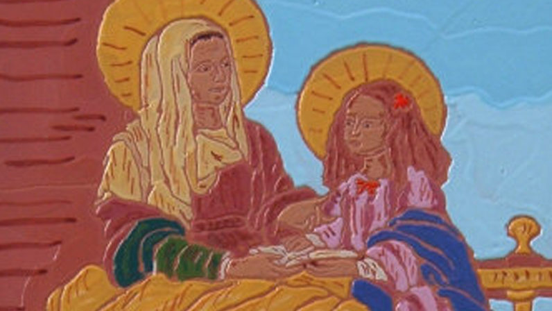 Exposición a beneficio de la Parroquia de la Blanca Paloma, de Sevilla
