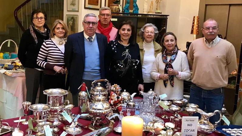 Cáritas Sevilla ha inaugurado esta mañana su Mercadillo navideño