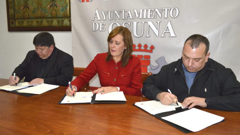 El Ayuntamiento de Osuna colabora en la restauración de la Parroquia de Consolación